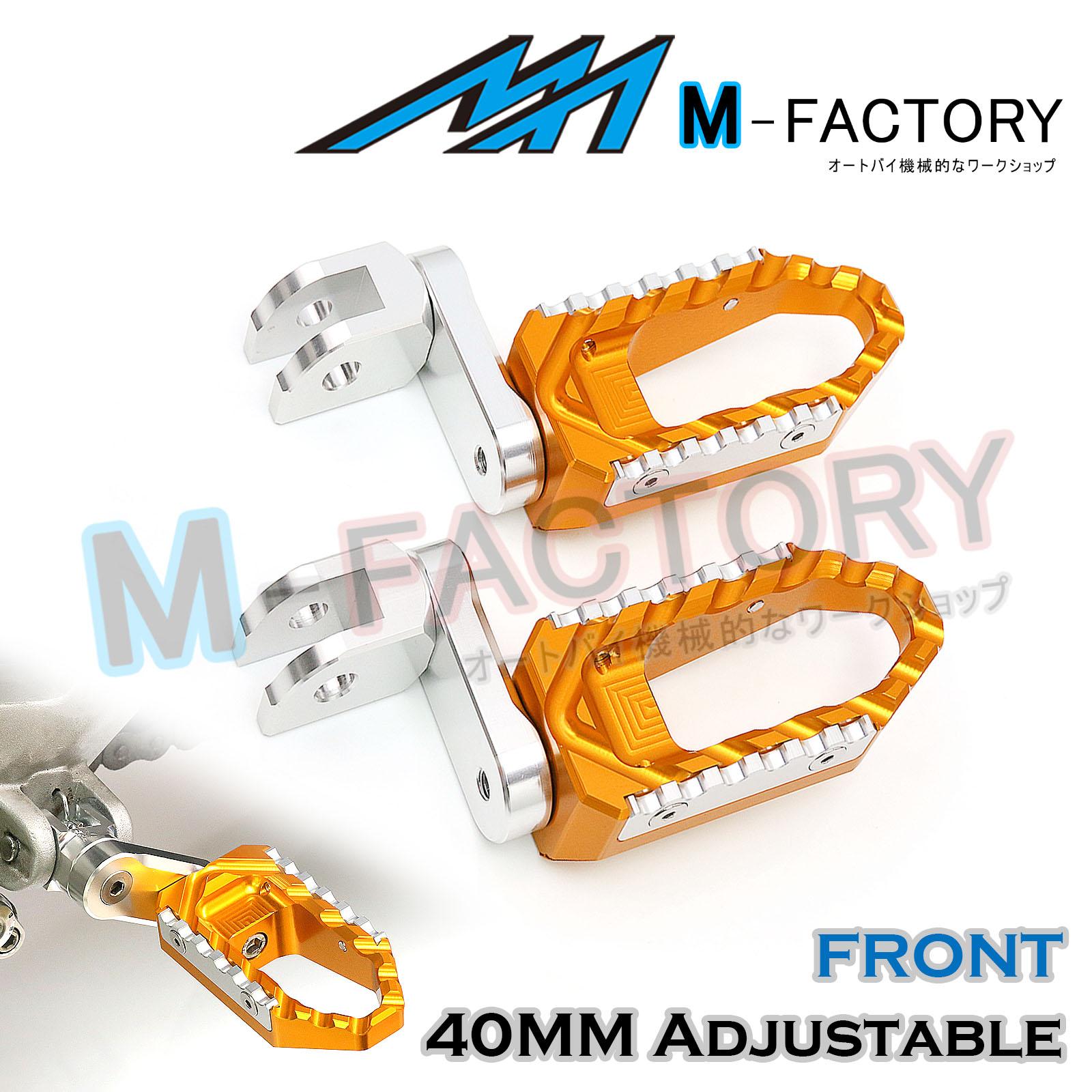 Billet Front 40mm Extension Foot Pegs Fit BMW K1200R K1300S KT1200GT