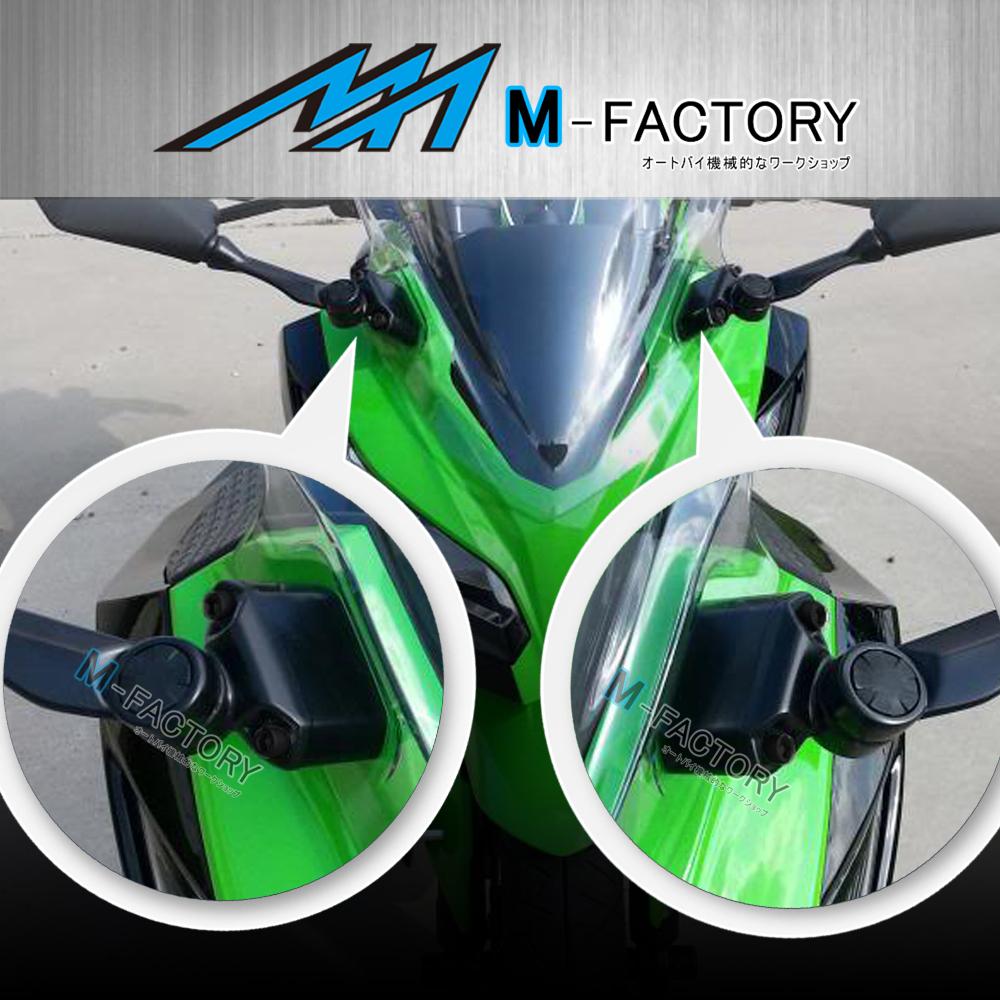 """1/"""" Mirrors Extender Spacer Adaptor Fit Honda CBR954RR 02-06 03 04"""