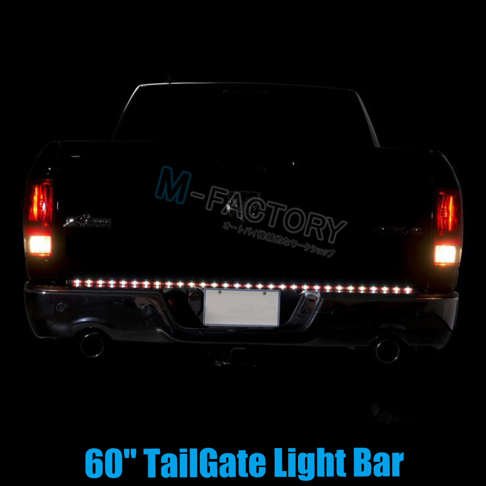 For 03 06 chevy silverado led tailgate lights tailgate bar 60 led for 03 06 chevy silverado led tailgate lights tailgate bar 60 led aloadofball Choice Image