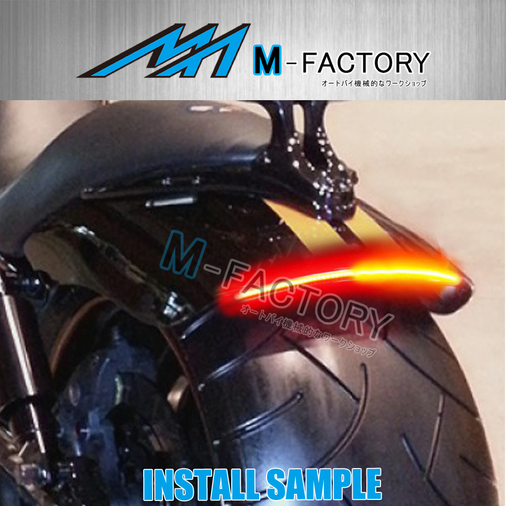 Led strip lights il motorcycle taillights