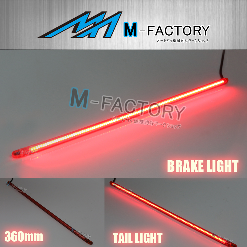 Motorcycle brake light led strip the best motorcycle 2018 100 led strip brake lights 2017 60 flexible 5 function sidefirez under the fender split led motorcycle taillight universal flexible 32 led motorcycle light aloadofball Gallery